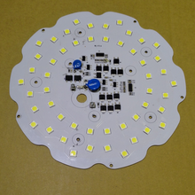 new design lower price 200w driverless 220v AC pcb led 7070 led pcb led high bay light modules