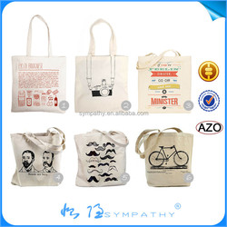 fashion organic wholesale blank cotton tote bags manufacturer