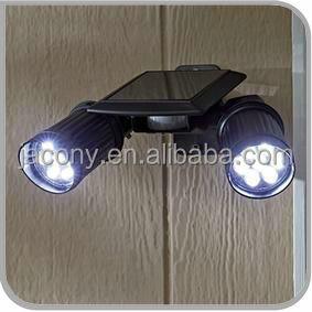 brightest motion activated solar security light with motion sensor jl. Black Bedroom Furniture Sets. Home Design Ideas