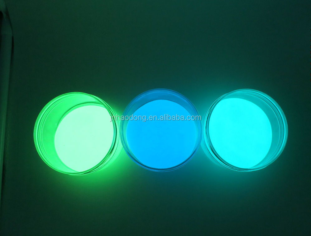 High quality glow in dark pigment