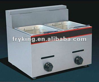 Gas Fryer 2-Tank Fryer (2-Basket)