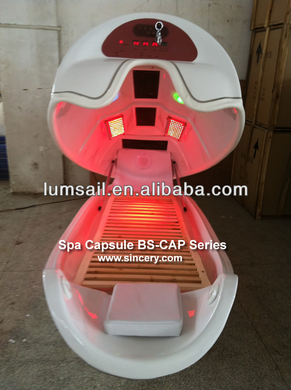 NEW dry spa capsule far infrared sauna bed