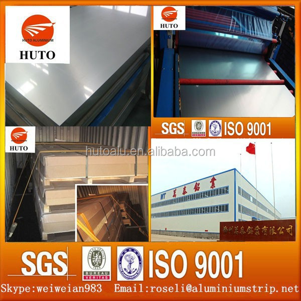 Marine Grade 5083 H32 Aluminium Sheet for Boat Building Deck