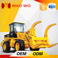 construction and yard use China fork wheel loaders for sale