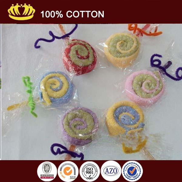 lollipop cake towel