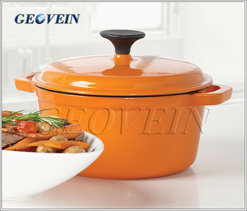 Non stick Multi-function pot for sauce pot casseroles soup pot ckooer Enameled cast iron saucepan