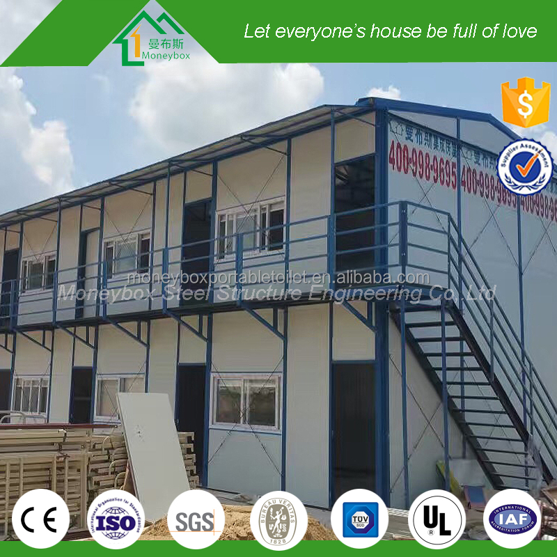 Low cost building with all living facility prefab real estate apartment