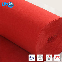 red decorative wall carpet for hotel room nylon printing fireproof sgs certificate