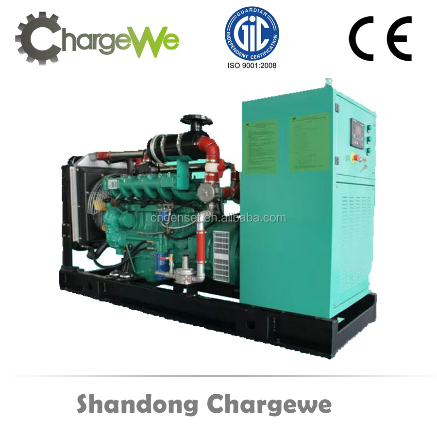 AC Three Phase Output Type natural gas / biogas / biomass generator set hot sale made in China