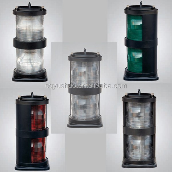 CXH-10S Marine LED Double-deck Stainless Steel Navigation Signal Light