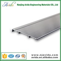 Brushed Surface Waterproof Skirting Boards for Interior Wall Decoration