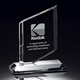 Wholesale blank crystal plaque award trophy for custom