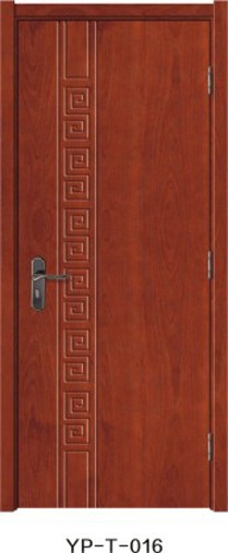 Popular and simple design solid wood lacquer paint bedroom doors