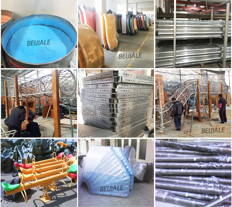 Hot selling galvanized pipe kids swing SW010