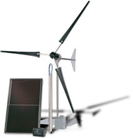 Water pumping Wind Solar Hybrid