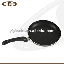Keep warming black nonstick fry pan