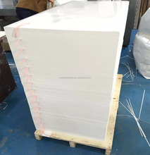 2 sides matt finished waterproof high temperature resistant synthetic paper for digital printing and laser printing