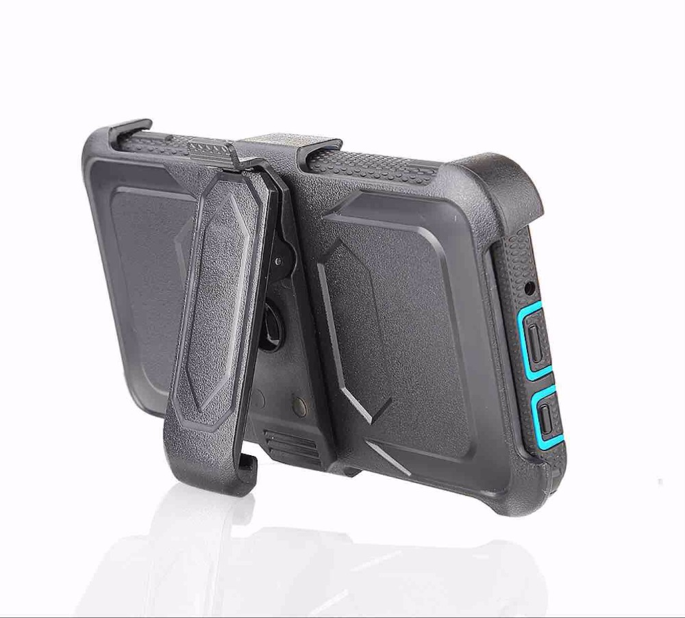 4 in 1 Top quality Rugged 360 rotatable belt clip case for Moto G5s Plus 12 colors