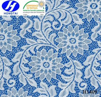 selling Indian Lace Fabrics/swiss voile lace in switzerland H1409