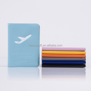 Plastic travel passport holder, travel document holder