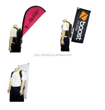 Human Billboard Backpack X Banner Stand Wearable Display