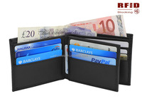 RFID Blocking Stylish Genuine Leather Wallet for Men - Excellent as Travel Bifold - Credit Card Protector - RFID Blocking Wallet