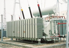 Three phase oil immersed type copper winding wound core low loss 35kv 66kv 110kv 132kV 220kV 120mva power transformer