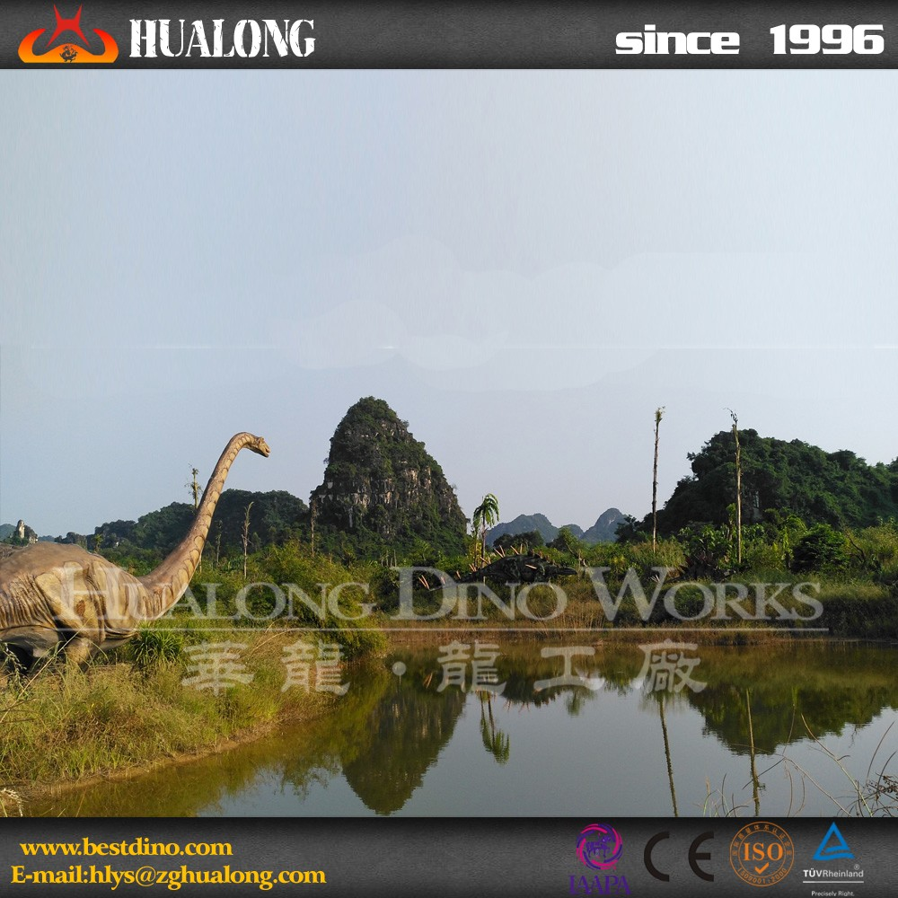 Outdoor Realistic Animatronic dinosaur For Sale