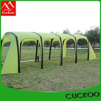 Flame windproof easy opened tpu pole inflatable tent