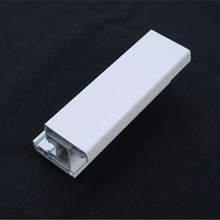 Hot sale plastic pvc profile sash smooth outward window pvc Extruded profiles