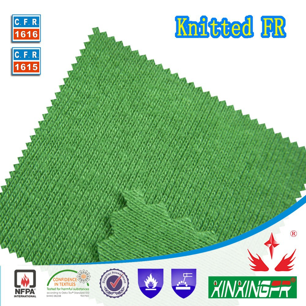 flame retardant knit fabric for 100% <strong>cotton</strong>