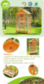 Hot selling Best Honey red color Wooden Parrot aviary cage
