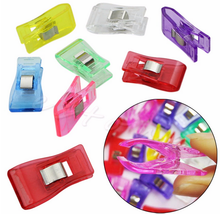 50pcs Wonder Clips Fabric Clamps for Patchwork Sewing Office Craft Quilt DIY