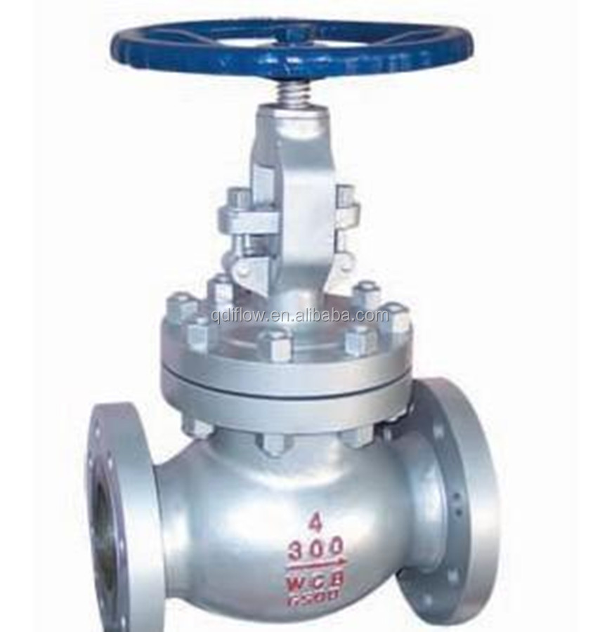 API 4 Inch Class300 Carbon Steel Globe Check Valve