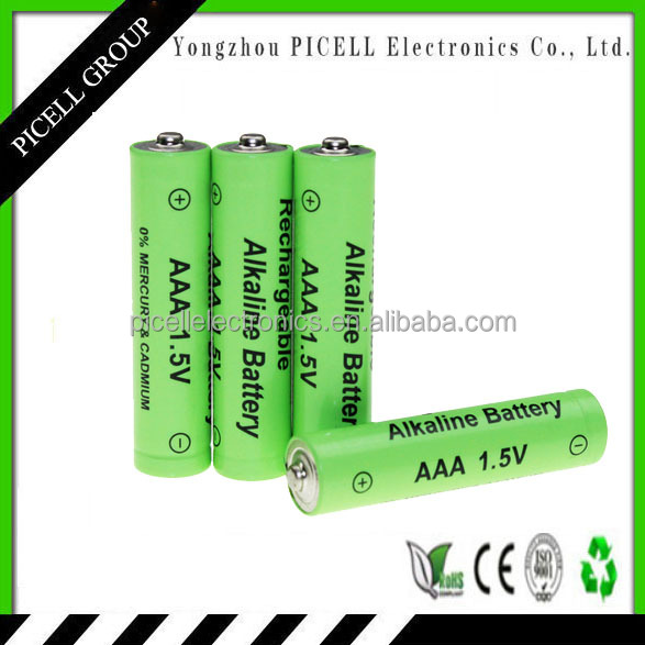 high quality 1.5v aaa rechargeable alakine <strong>batteries</strong> for wholesale