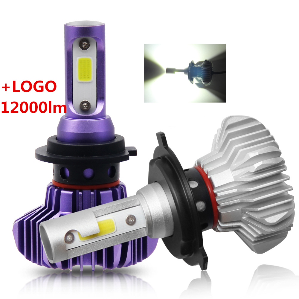12000LM S9 Fanless 50w COB 9005 9006 H1 H11 H7 <strong>LED</strong>,H4 <strong>LED</strong> Light Bulb Auto Car H4 <strong>Led</strong> Headlight