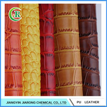 Crocodile Semi PU Leather for Sofa/Fake Leather