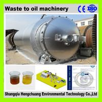 continuous tire pyrolysis oil machine with ISO9001 automatic welding