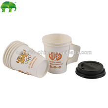 7 oz hot drink paper cups with handle