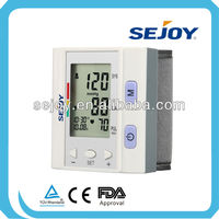 Manufacturer OEM cheapest electronic small wrist type Blood Pressure Monitor