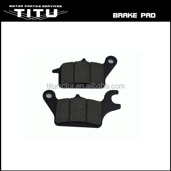 Motorcycle brake pad for honda wave 110