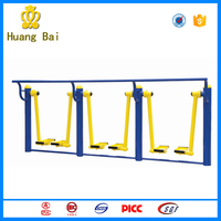 Popular amusement outdoor gym equipment air walker for park used