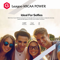Free Sample Original unlocked HK Stock LEAGOO KIICAA POWER 3G Smartphone cell phone