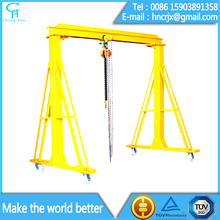 1 ton 2 ton 3 ton 5 ton mobile small gantry crane for sale