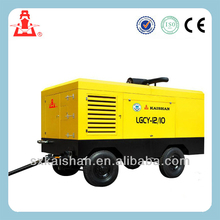 Kaishan LGCY Series diesel portable air screw compressor