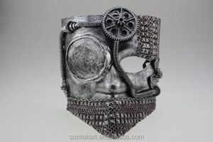 funky men's Mechanical punk masquerade mask cool face mask