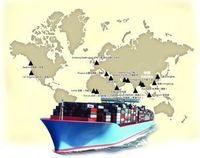 Door to door delivery services in sea freight from China to Croatia