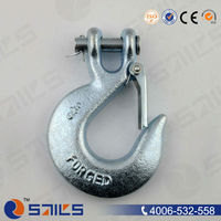 plastic hook drop forged clevis slip hooks with latch H-331