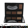 9pcs pigmented eyebrow kit private label eyebrow palette