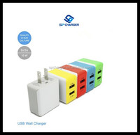 5V 1A mini wall usb charger adapter,mobile phone travel charger ,usb travel charger with US plug